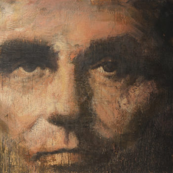 Lincoln, 2012-13, Encaustic on canvas, 84 x 96 inches