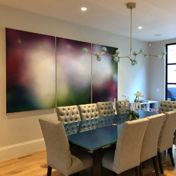 Tracy Rocca's painting in a private residence