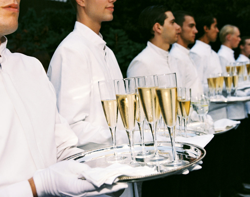 Champagne Army, 2017, C-print on Dibond, 11 x 14 inches