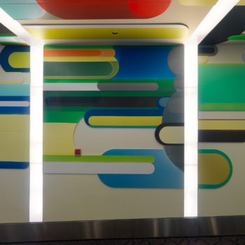 Installation at the Warwick, Rhode Island airport