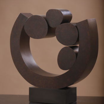 Siela, 2016, Bronze, 17.5 x 19.5 x 5 inches