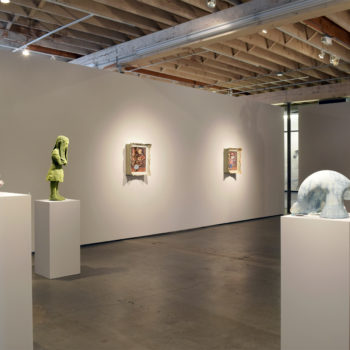 Installation view, 'Form Over Function: Ceramic sculptures
