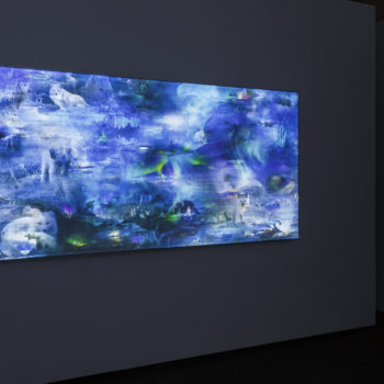 Installation view of Maja Petric Skies West Gallery exhibition, 2018