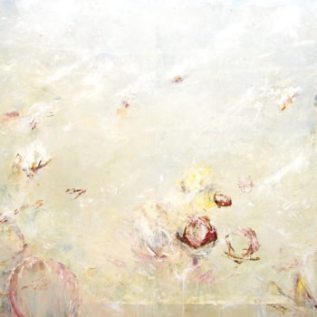 Blossoms of Euclid, 2010, Acrylic on canvas, 72 x 144 inches